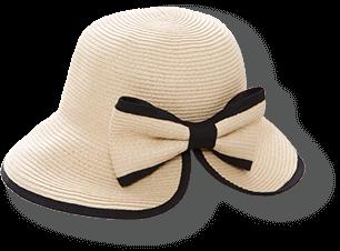 Tsubahiro slit paper hat